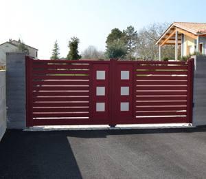 portail, clôture Charente