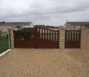 portail, clôture 16
