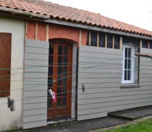 bardage bois Charente