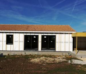 Bardage façade isolation
