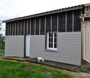 bardage composite Charente, Maison individuelle st germain