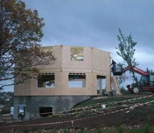 Maisons ossature bois charente